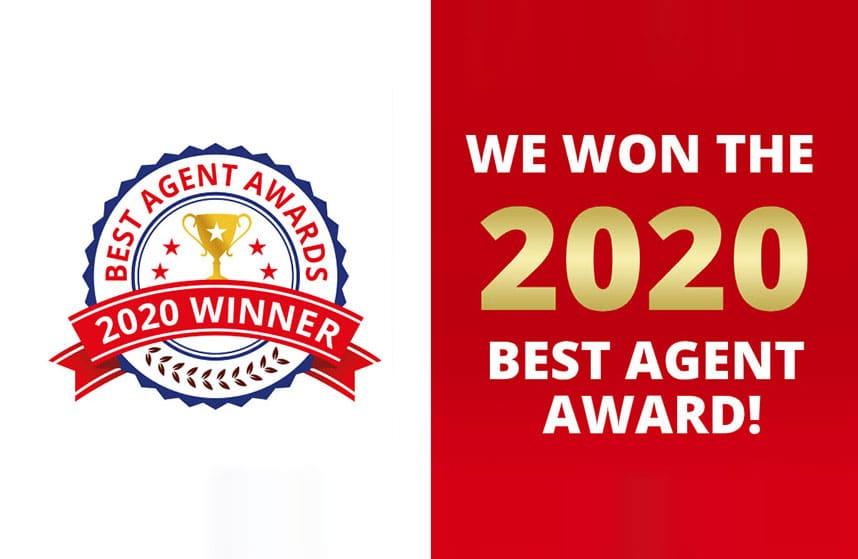 Triumph Luxury Homes Wins 2020 Best Agent Award