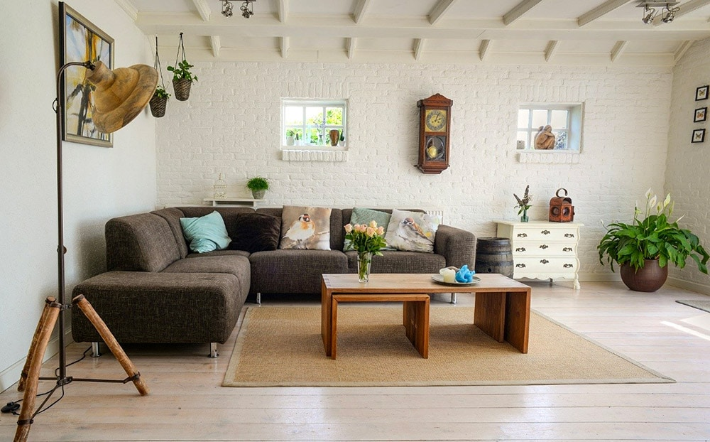 Change and rearrange your furniture